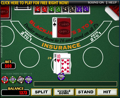 Click Here To Play Our Blackjack Game
